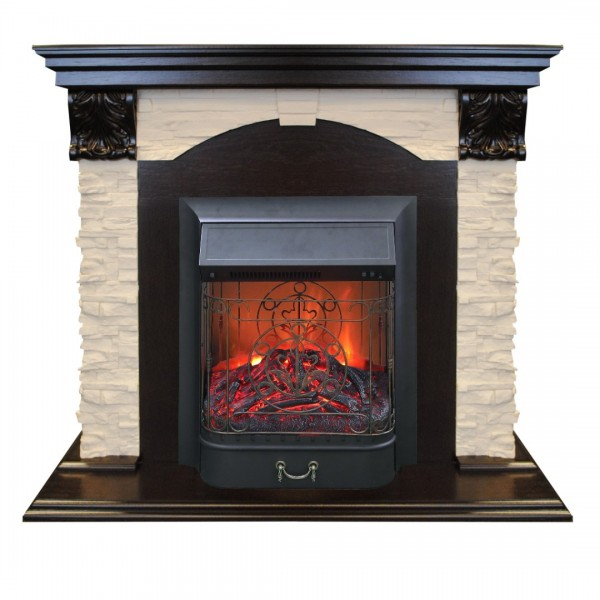 RealFlame Dublin Lux AO с Majestic Lux BR S